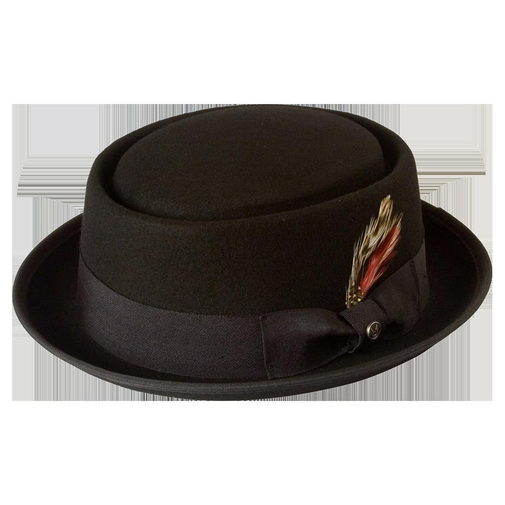 Pork Pie Stingy Brim Heisenberg Hat — Gamble & Gunn